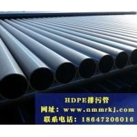 通辽丨赤峰丨HDPE排污管|内蒙古铭睿科技|供应|规格