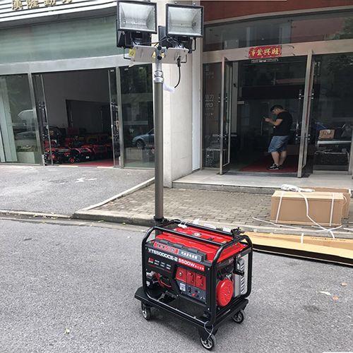 伊藤5kw柴油应急发电机照明灯塔