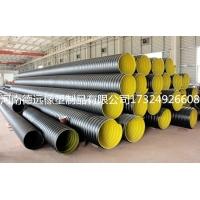 钢带增强PE螺旋波纹管厂家