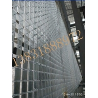 天桥管廊格栅板  平台走道格栅板