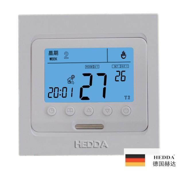 HEDDA大屏幕液晶一周四时段编程国产温控器