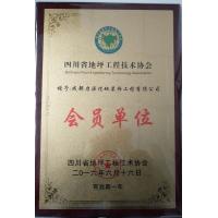 四川省地坪工程技术协会会员证