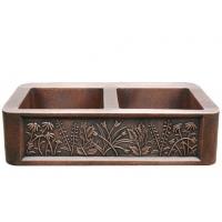 供应弘德铜盆,铜水槽1539-H