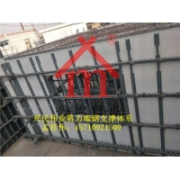 碧桂园钢支撑模板加固剪力墙钢背楞支撑体系