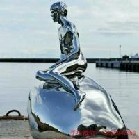 人物不锈钢雕塑 景观不锈钢雕塑 不锈钢雕塑制作厂家