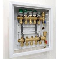 曼瑞德M型分水器箱体 450mm高 嵌入式分集水器铁箱
