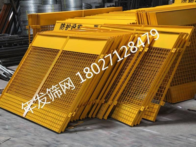 产品制作方法:临边护栏全部由钢结构组成.
