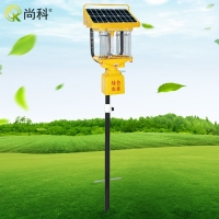 尚科杀虫灯SK-TFS10太阳能频振式10瓦杀虫灯