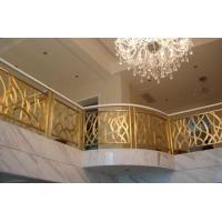 上海美捷尔铜艺供应—豪华铜楼梯扶手、铜栏杆