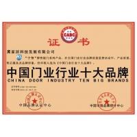 中国门业行业十大品牌