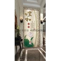 玄关背景墙 陶瓷背景墙 彩雕