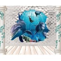 3D彩雕背景墙 家庭背景墙 背景墙厂家