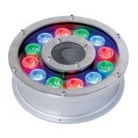 汇炬光led泳池灯喷泉灯七彩遥控水底灯 不锈钢水池灯6W9W
