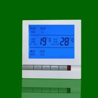 汗蒸房电采暖温控器水暖温控器壁挂炉开关面板