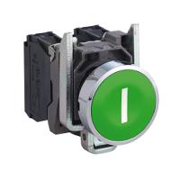 施耐德XB4BA3311绿色按钮 Ø 22 -