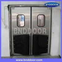 苏州柏恩德不锈钢自由门、不锈钢防撞门