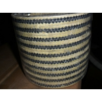 金芳纶纤维盘根、黄芳纶纤维盘根、芳纶纤维交织白四氟盘根