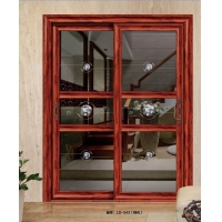 铝合金门窗、家用隔音玻璃门、 阳台厨房推拉门