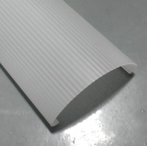 LED灯管塑料PMMA外壳 亚克力磨砂灯罩配件 LED灯罩