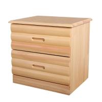 金座标 松木床头柜 实木床头柜 简约环保