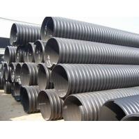 西北厂家供应HDPE钢带增强螺旋波纹管报价