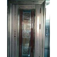 珠海高端彩色不锈钢无缝门/彩色不锈钢面包门