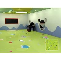 环保幼儿园塑胶地板        幼儿园卡通塑胶地板
