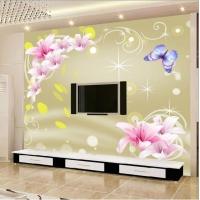 承接大型高清无缝墙布背景墙壁画软包硬包