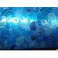 天然透光板材玛瑙石 水晶石 蓝宝石 虎睛石板材