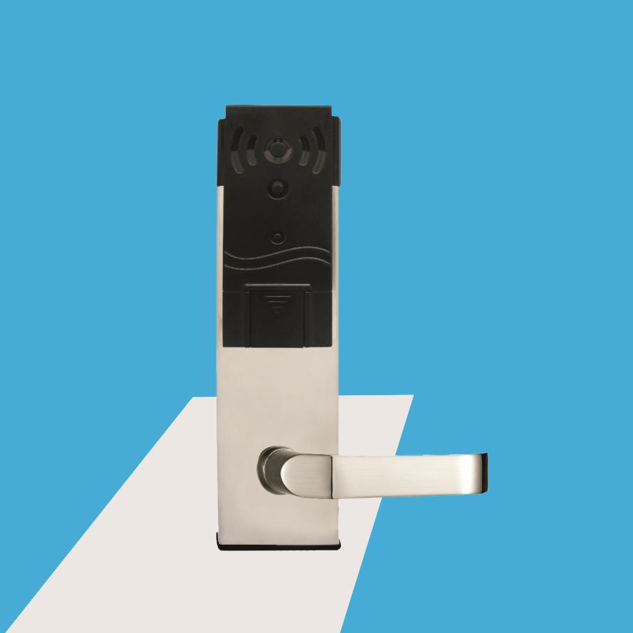 宾馆智能门锁 酒店防盗门刷卡锁 磁卡锁
