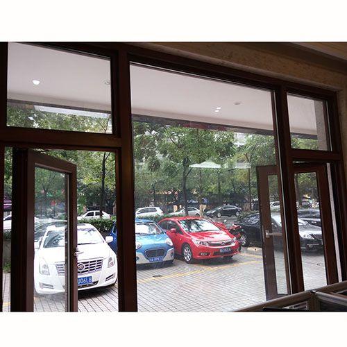 12博-木纹色外平开窗系列