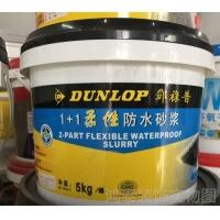 英国邓禄普1+1柔性防水砂浆 灰浆 厨房卫生间防水涂料 5k