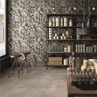 水泥砖600仿古砖灰色复古瓷砖客厅防滑地砖厨房卫生间阳台墙砖