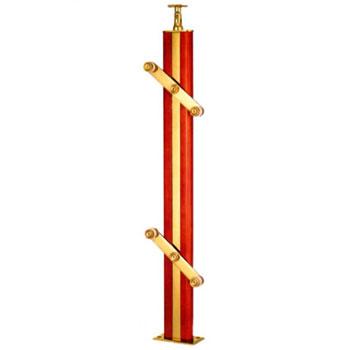中晟三维楼梯 金属扶手 4