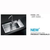 不锈钢水槽系列-8101