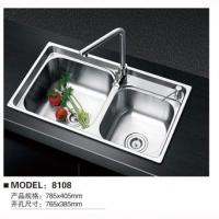 不锈钢水槽系列-尊者卫浴-8108