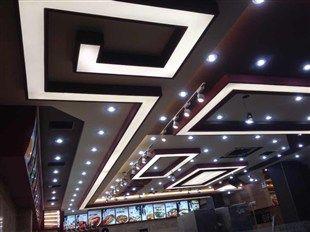 富阳led灯膜软膜装饰-发光灯膜吊顶效果图
