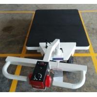适用安检部门、关口、车站搬运安检的电动平板推车 安检仪运送车