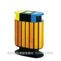 A0143三色垃圾桶厂家_旅游区环保垃圾箱