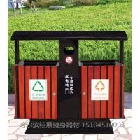哈尔滨园林垃圾桶_哈尔滨小区垃圾箱供应