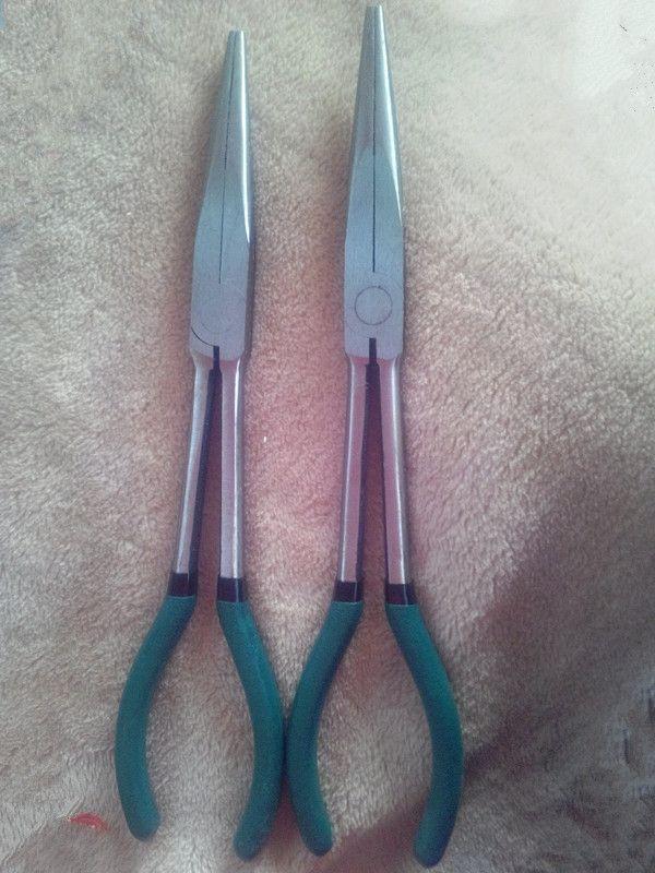 属字折角钳 小笔画折角 焊接辅助折边钳