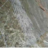 山體防護網 sns柔性邊坡防護網安裝施工