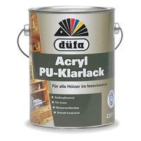 德国都芳全环保水性木器PU清漆