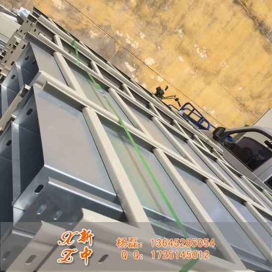热浸锌槽式电缆桥架 600 200厂房布线走线槽桥架