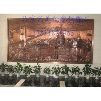 铜浮雕壁画,敲铜浮雕定做,紫铜浮雕生产厂家