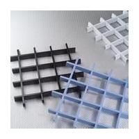 宣城铝格栅厂家黄山铝格栅南京木纹铝格栅吊顶工艺