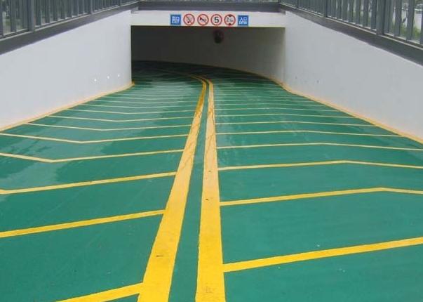 供应施工济南环氧地坪防滑地坪止滑车道地坪