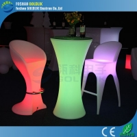 LED时尚发光桌子家具 酒吧桌子 LED发光夜光桌子 佛山