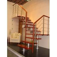 不锈钢楼梯,实木楼梯,工程立柱