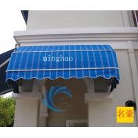 北京别墅窗户装饰雨棚法式折叠篷固定西瓜篷阳台伸缩棚